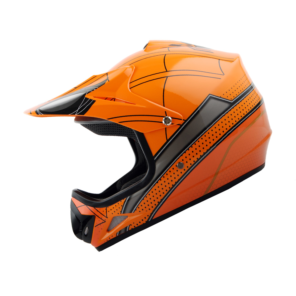new youth kids motocross motorcross mx bmx bike helmet. Black Bedroom Furniture Sets. Home Design Ideas