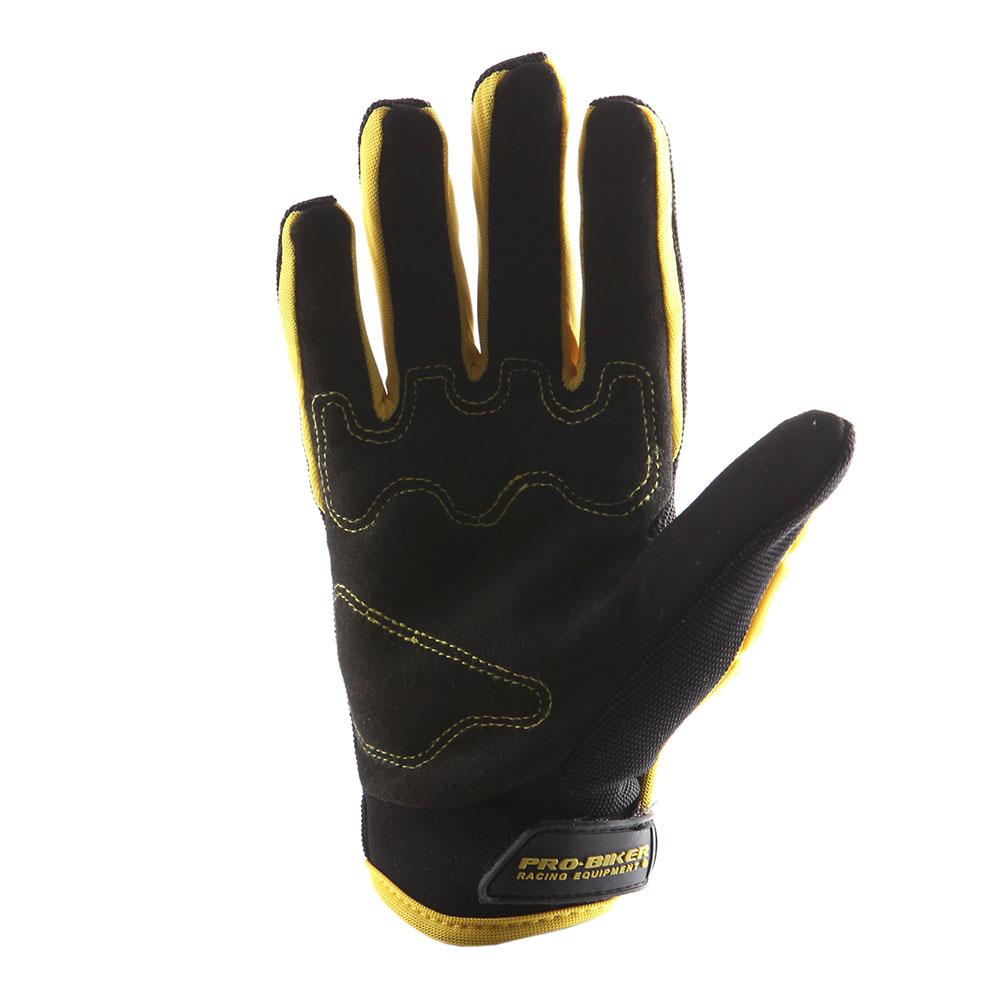 Motorcycle Motocross Gloves MX BMX Bike Skeleton Black ...