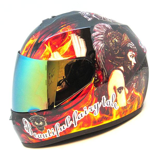 1storm Motorcycle Street Bike Full Face Helmet Ghost Girl Lady