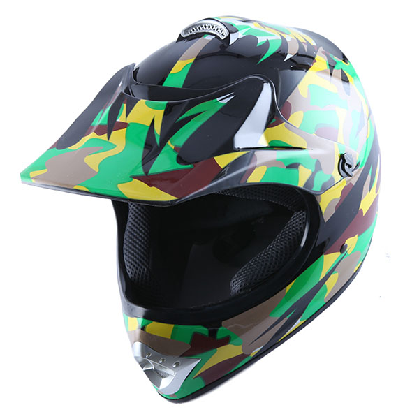 bmx mx bike kids youth motocross helmet spider black blue. Black Bedroom Furniture Sets. Home Design Ideas